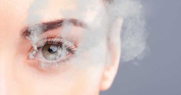 occhio e fumo